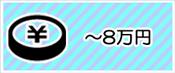 〜8万円の景品セット